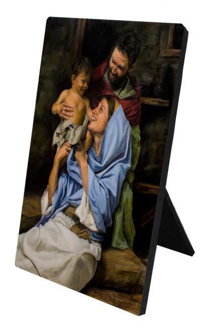 Holy Family II Desk Plaque