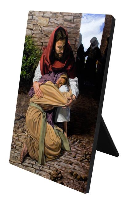 Prodigal Daughter Desk Plaque