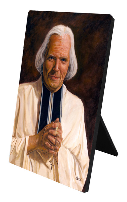 St. John Vianney Desk Plaque