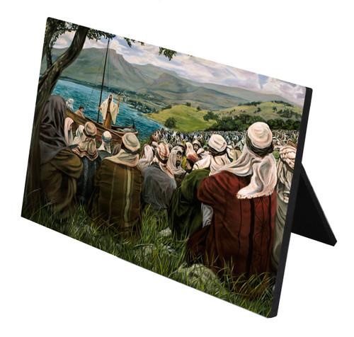Sermon On The Mount Horizontal Desk Plaque