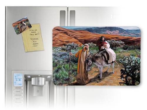 Flight into Egypt (Jenicke) Horizontal Magnet