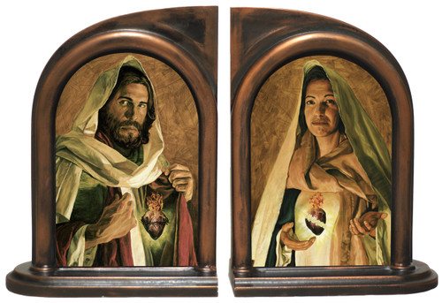 Sacred and Immaculate Hearts Jason Jenicke Bookends