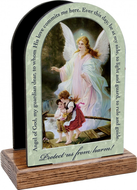 Guardian Angel Prayer Table Organizer (Vertical)