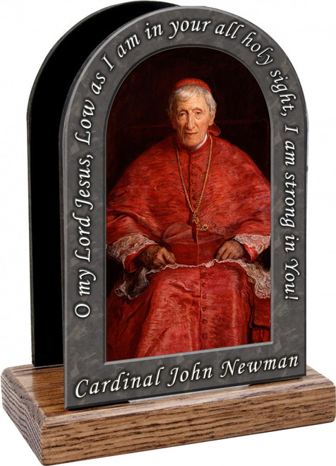 St. John Newman Prayer Table Organizer (Vertical)
