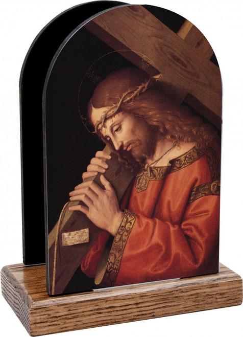 Christ Bearing the Cross Table Organizer (Vertical)
