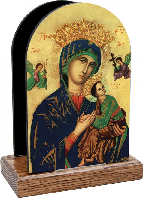 Mother of Perpetual Help Table Organizer (Vertical)