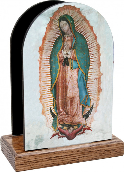 Our Lady of Guadalupe Full Table Organizer (Vertical)