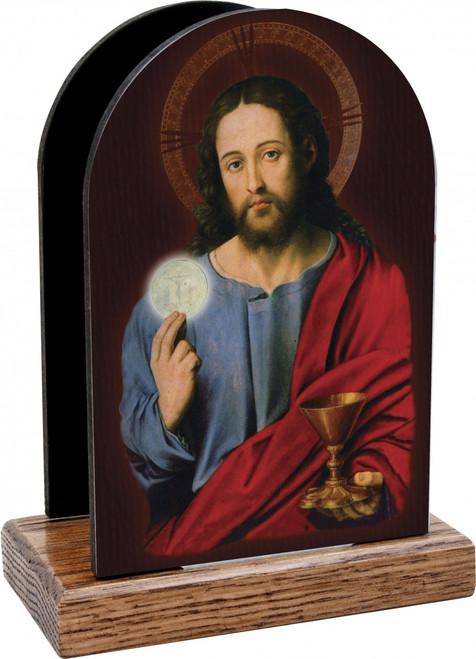 Christ with Eucharist Table Organizer (Vertical)