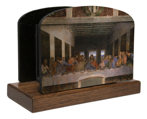 Last Supper by Da Vinci Horizontal Table Organizer