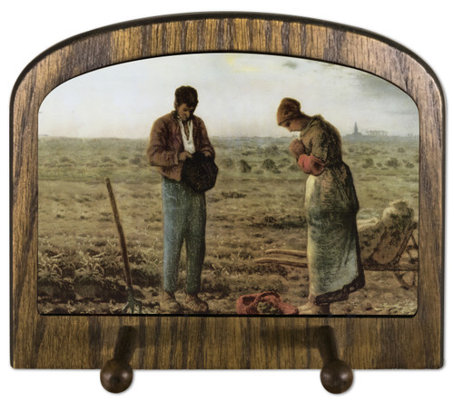 The Angelus by Millet Horizontal Peg Holder