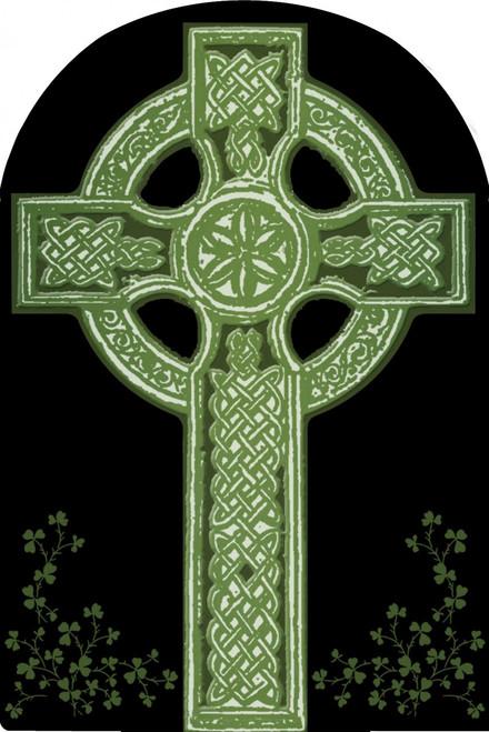 Celtic Cross Arched Magnet