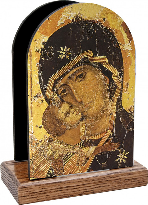Our Lady of Vladimir Detail Table Organizer (Vertical)