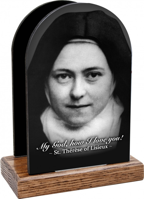 St. Therese (Nun) Table Organizer (Vertical)
