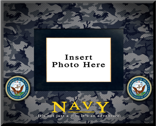 """""""Navy"""" Picture Frame"""