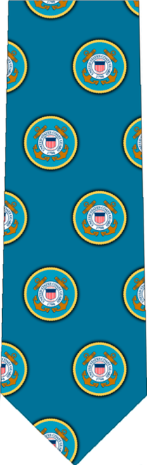 Coast Guard Pattern Tie
