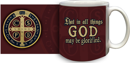 Benedictine Medal Coffee Mug