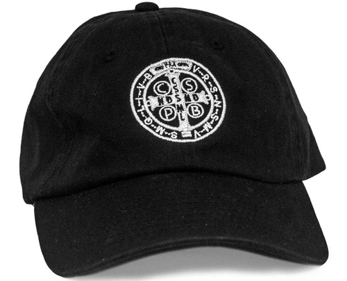 Benedictine Medal Hat