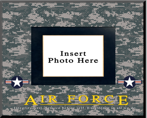"""""""Air Force"""" Picture Frame"""