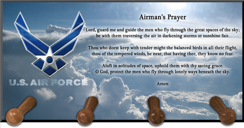 Airmen Prayer Keychain Holder