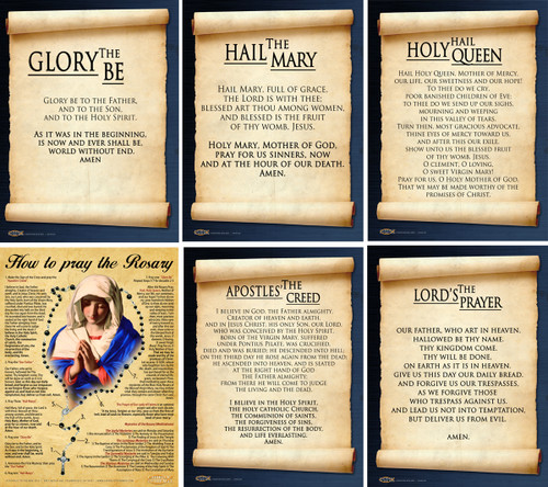 Rosary Poster Value Pack II