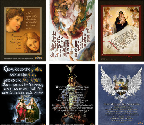Common Prayers II Poster Value Pack