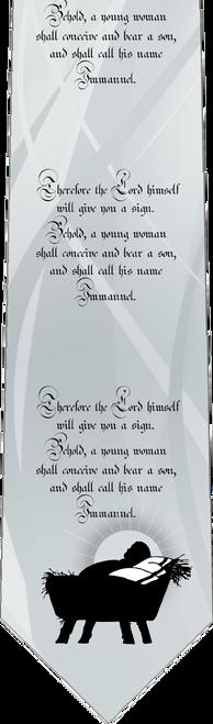 Isaiah 7:14 Necktie