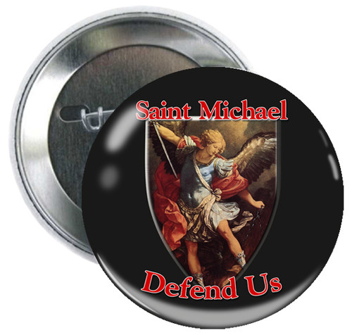 St. Michael Button