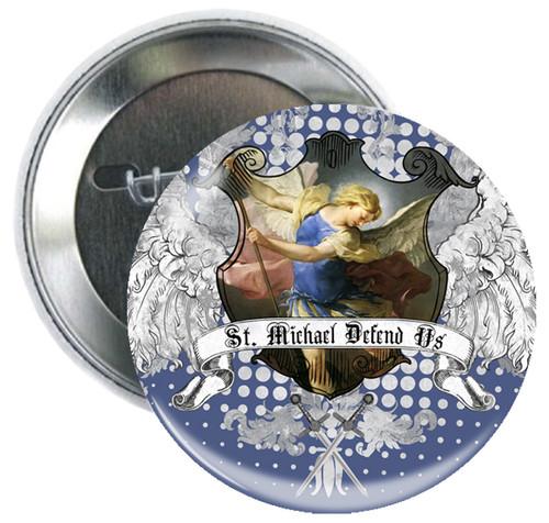 St. Michael Heraldic Button