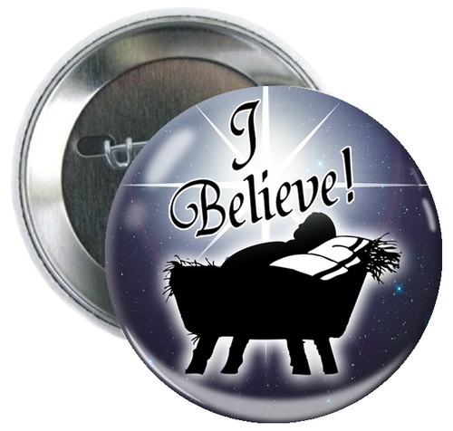 I Believe Button