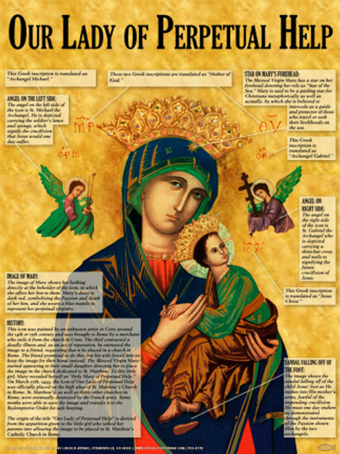 Mother of Perpetual Help Explained Poster