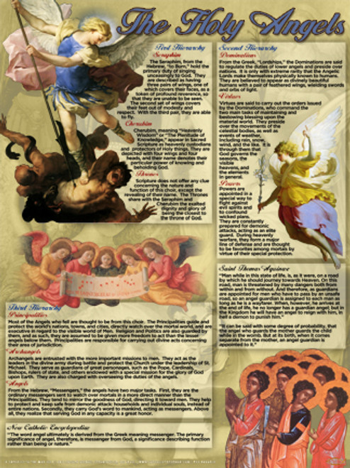 The Holy Angels Explained Poster