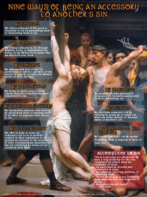 Nine Ways of Being An Accessory to Another's Sin (Faith Explained) Poster