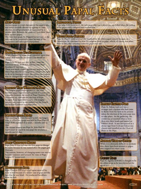Unusual Papal Facts Explained Poster