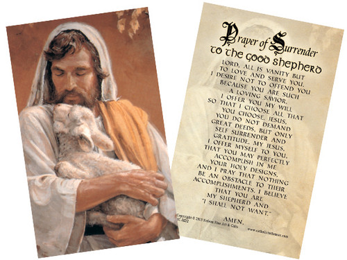 Good Shepherd Holy Card