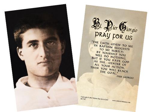Bl. Pier Giorgio Holy Card