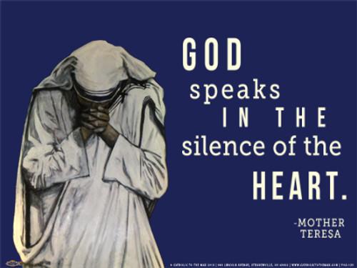 God Speaks Poster I