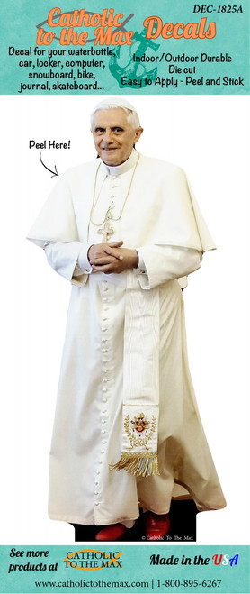 Pope Benedict XVI Decal