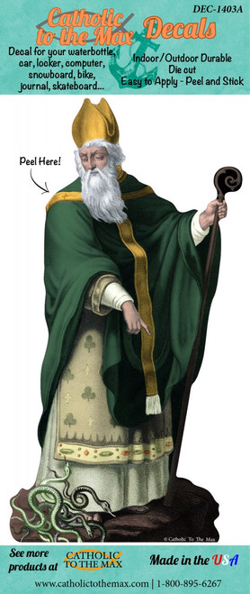 St. Patrick Decal