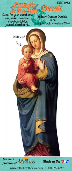 Madonna and Child Decal