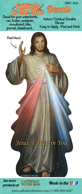 Divine Mercy Decal