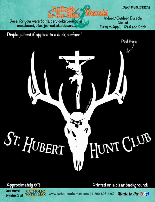 St. Hubert Hunt Club Decal
