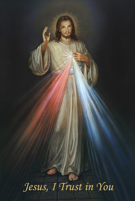 Divine Mercy Print in Assorted Frames