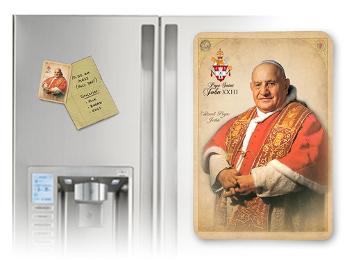 Commemorative Pope John XXIII Formal Magnet