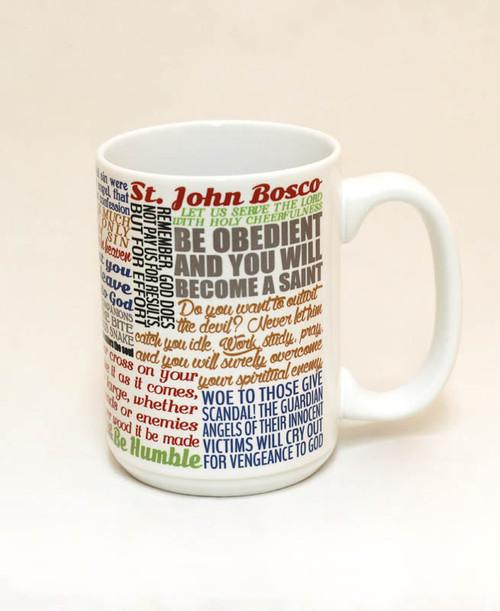 Saint John Bosco Quote Mug
