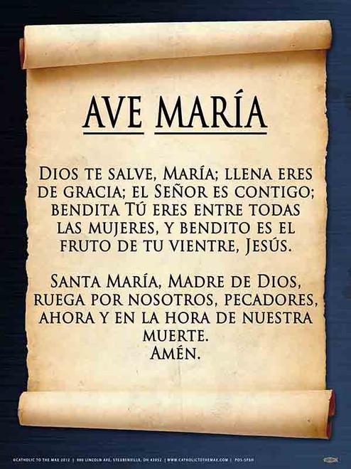 Spanish Hail Mary Poster