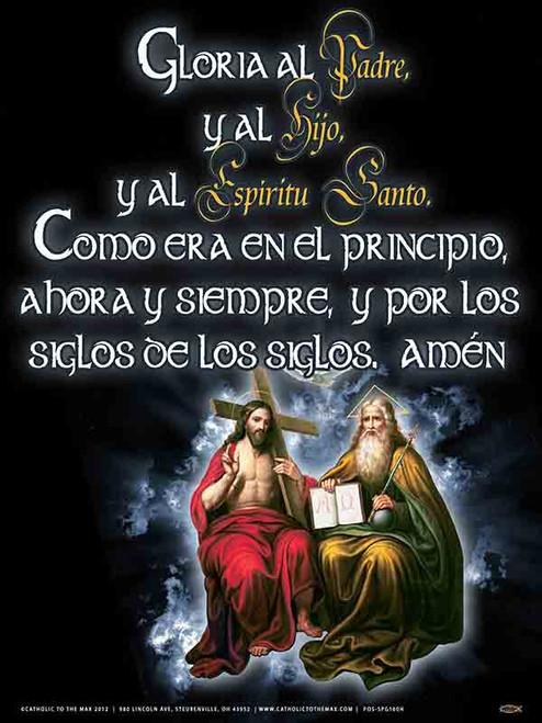 Spanish Trinity & Glory Be Poster