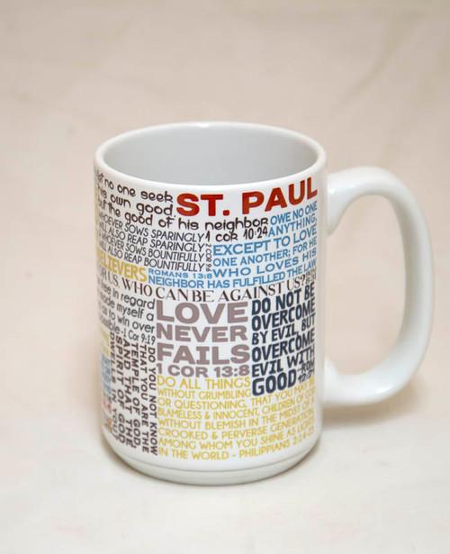 Saint Paul Quote Mug