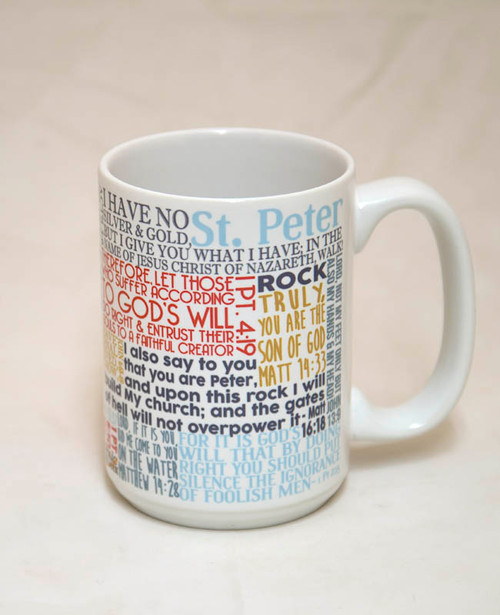 Saint Peter Quote Mug