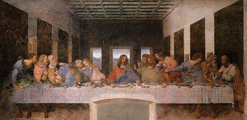 Last Supper by Da Vinci Print in Assorted Frames