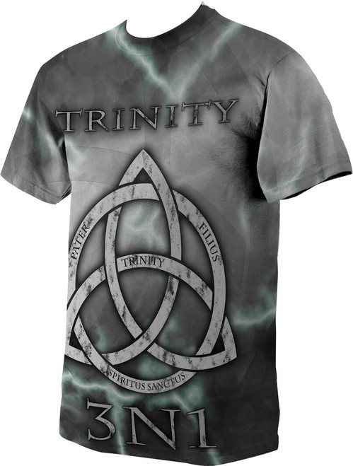 Trinity Graphic Poly T Shirt